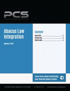 Abacus Law Integration Cover