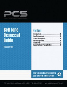 Bell Tone Dismissal Guide Cover