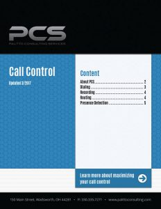 Call Control Cover