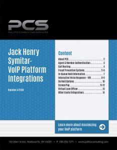 Jack Henry Symitar-VoIP Platform Integrations