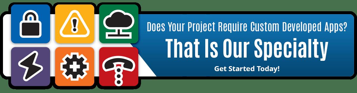 Custom Development Banner