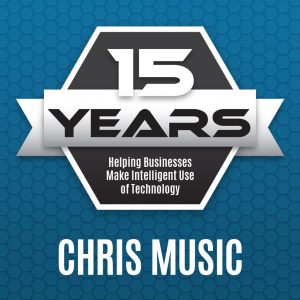 Chris Music celebrates 15 years with Palitto Consulting Services