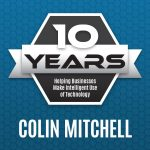 Colin Mitchell celebrates 10 years with Palitto Consulting Services