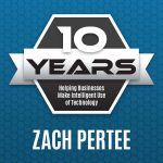 Zach Pertee celebrates 10 years with Palitto Consulting Services